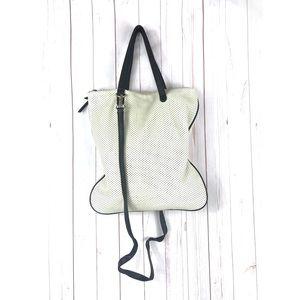 Poverty Flats Cream Crossbody Handbag